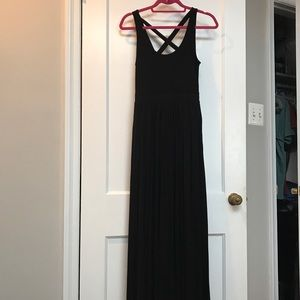 Never Worn Maeve by Anthropologie Black Maxi Dress